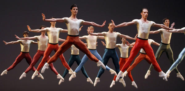 Jerome Robbins was considered one of the greatest choreographers of the 20th century and his works continue to be performed around the world. Above, members of the Vienna State Ballet dance during a Robbins tribute dress rehearsal in April 2011. The New York City Ballet is now marking the centennial of his birth with The Robbins 100 Festival, featuring 20 of the master's works.