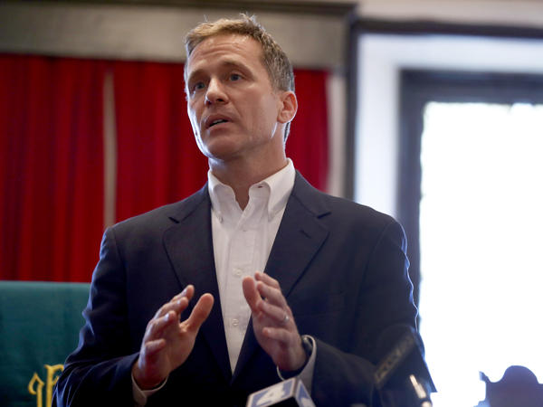Missouri Gov. Eric Greitens faces a felony invasion of privacy charge for allegedly taking a semi-nude photo of a woman without her consent. On Tuesday, his cellphone and email were examined as part of the trial.
