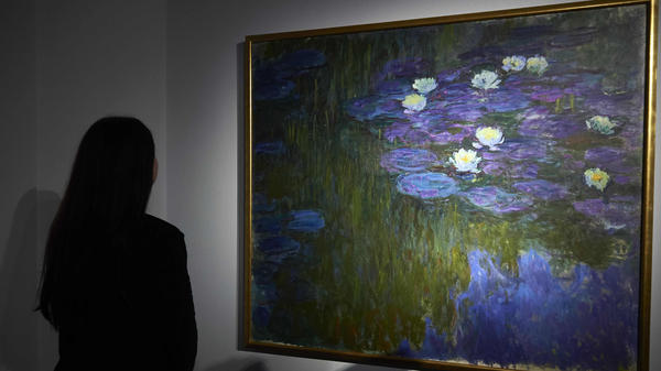 Claude Monet's Nympheas en fleur was a highlight of an auction at Christie's in New York last week.