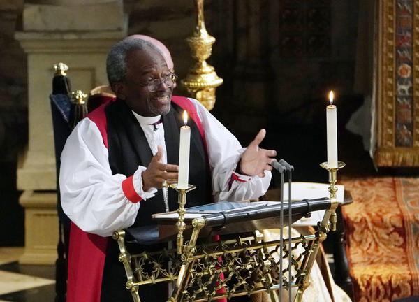The Most Rev. Michael Bruce Curry of Chicago, the first African-American leader of the Episcopal Church, spoke about the power of selfless, sacrificial love.