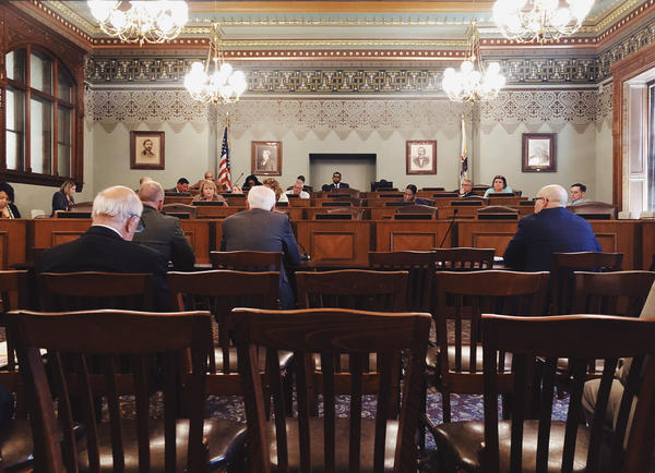 The Illinois House Judiciary - Criminal Committee held a special hearing May 21, 2018 to discuss Gov. Bruce Rauner's death penalty proposal.