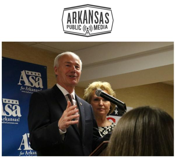 Republican Gov. Asa and Susan Hutchinson