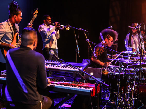 Yissy Garcia y Bandancha perform at the Kennedy Center on May 9, 2018 as part of the Artes de Cuba Festival.