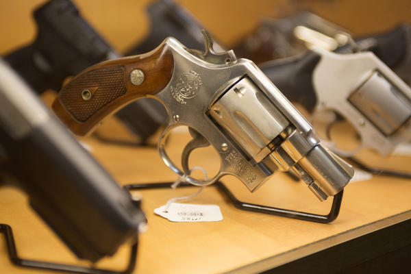 A .38 revolver was one of the two weapons used in the Santa Fe High School shooting last week.