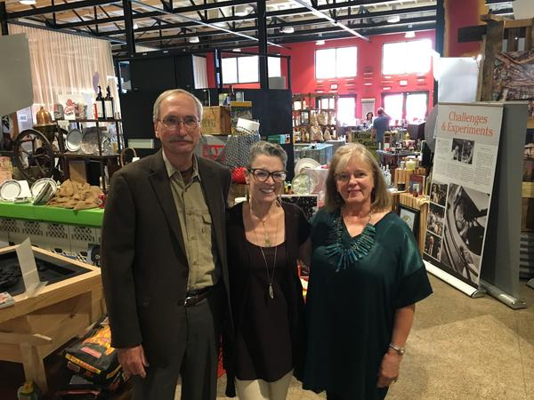 Poppy with Jim Bruseth and Toni Turner