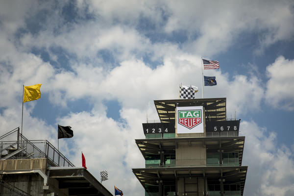 The Panasonic Pagoda at Indianapolis Motor Speedway offers some of the best views of the track for the Indianapolis 500.