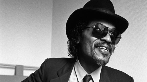 """Chuck Brown, known as the """"Godfather of Go-Go,"""" shown in 1987."""