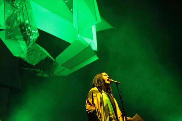 Antony performs in Oslo, Norway in 2011.