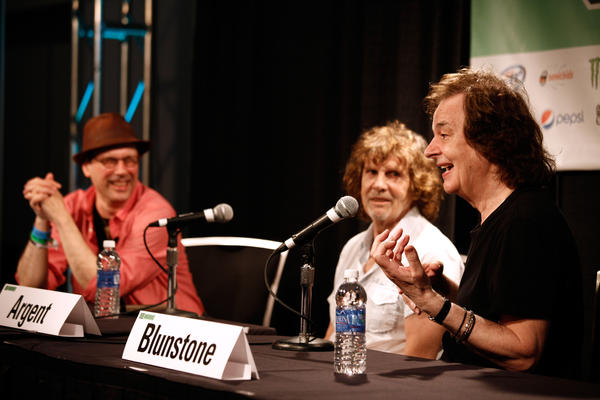 Bob Boilen, host of NPR Music's <em>All Songs Considered</em>, interviews Rod Argent and Colin Blunstone of The Zombies at SXSW.