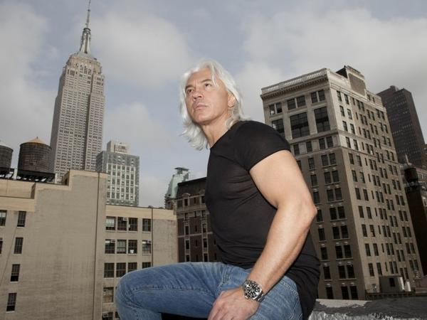 Russian baritone Dmitri Hvorostovsky. He died Wednesday at age 55.