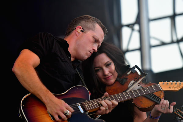 Jason Isbell and Amanda Shires perform onstage at the 2016 Pilgrimage Music & Cultural Festival in Franklin, Tenn.