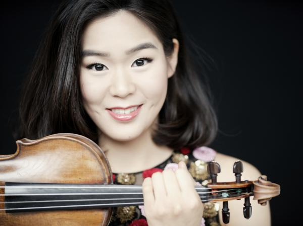 Violinist Esther Yoo performs all the classical music for the film.
