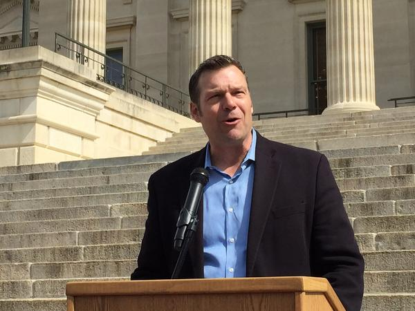 Kansas Secretary of State Kris Kobach is pledging to continue his defense of the proof-of-citizenship requirement for voter registration.
