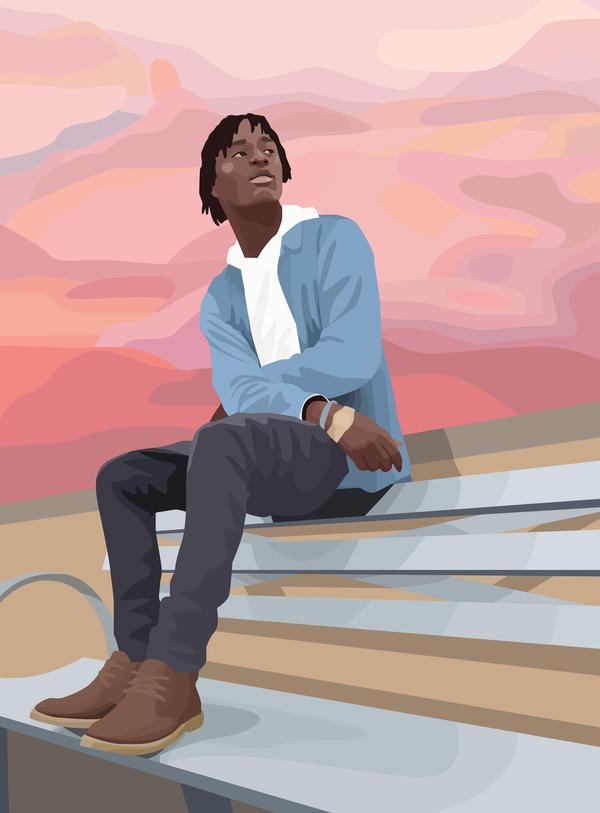 """""""Black Life: Quanice Hayes,"""" by Ameya Okamoto."""