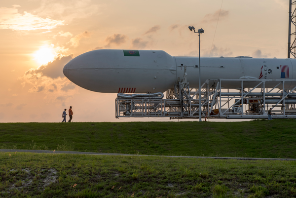 A Falcon 9 rocket like this one lifted off June 29 from Cape Canaveral.