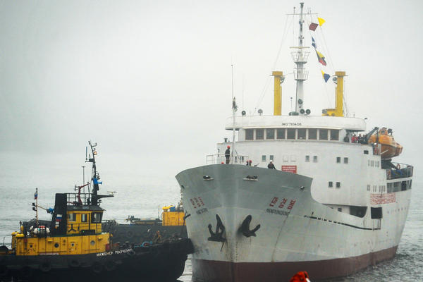 Vladimir Baranov is still hoping to find passengers for the Man Gyong Bong ferry between Vladivostok and the North Korean port of Rajin, including Russian and Chinese tourists. But he can soon forget about the region's North Korean migrant workers that Moscow says will have to leave.