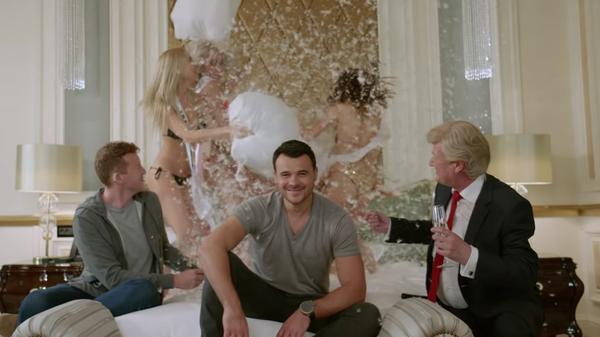"A still from Emin Agalarov's video for ""Got Me Good."""