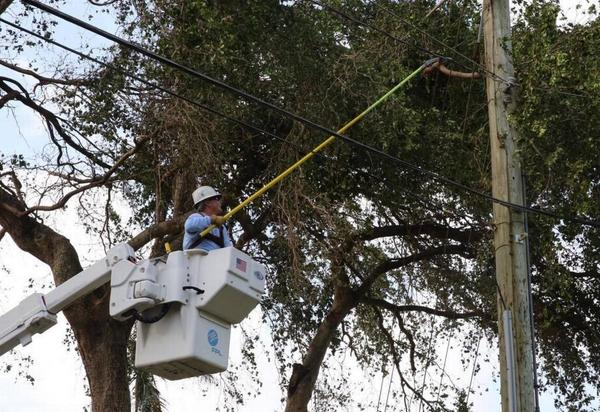 Broward and Miami-Dade counties submitted their highest priority lists for power restoration after storms. Florida Power & Light rejected them, saying they didn't meet the company's requirements.