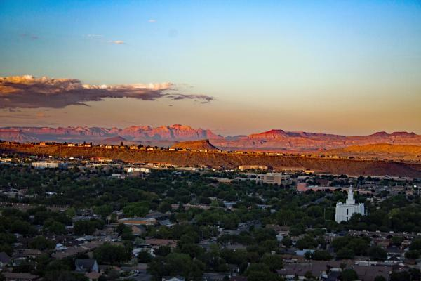 St. George is one of the fastest growing areas in the U.S., and also one of the driest.