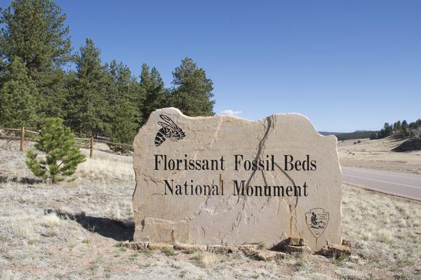 Florissant Fossil Beds National Monument Entrance