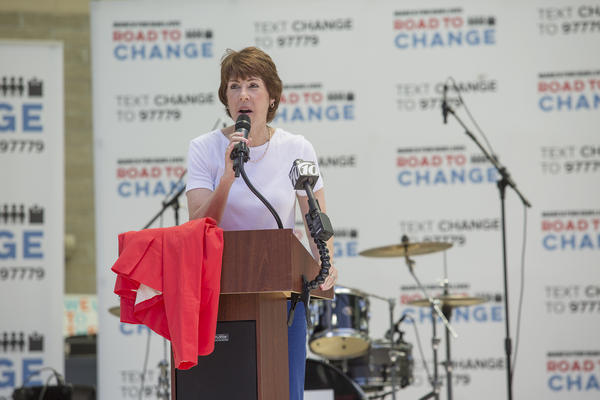 Gwen Graham,  candidate for Florida governor.