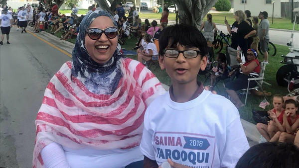 Saima Farooqui, if elected, would be the first Muslim to serve in Florida's state House of Representatives.