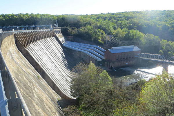 Cube Hydro's Narrows Dam on Badin Lake is among those in the dispute with Duke Energy.