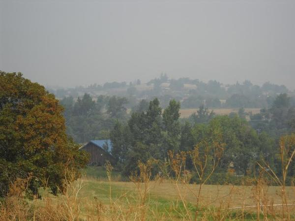 <p>Smoke from wildfires burning across southern Oregon is making air quality hazardous, which is especially challenging for vulnerable populations.</p>