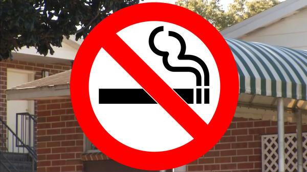 Smoking is no longer permitted in federally-subsized public housing.