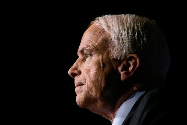 Arizona senator and former Republican presidential nominee John McCain died from brain cancer.
