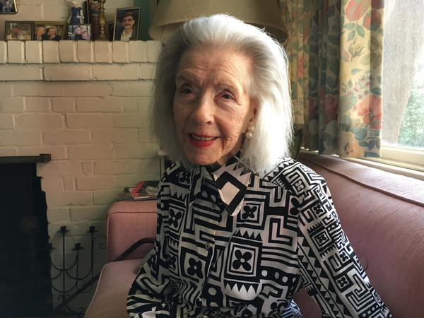 Marsha Hunt sits at her house in Los Angeles earlier in 2018.