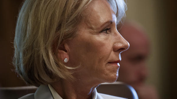 Secretary of Education Betsy DeVos issued new guidance last fall on how campuses should handle accusations of sexual assault.