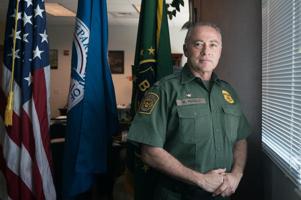 Manuel Padilla, Border Patrol chief for the Rio Grande sector, says there is a long way to go in securing this section of the border.