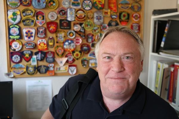 <p>Phil Turnbull is the chief of the subscription-based Rural/Metro Fire in Josephine County.</p>