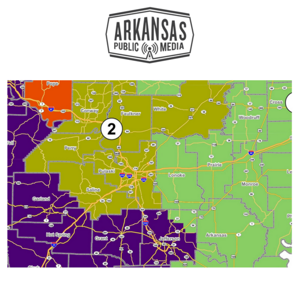 Two proposals are seeking to change the way Arkansas redraws its voting districts.