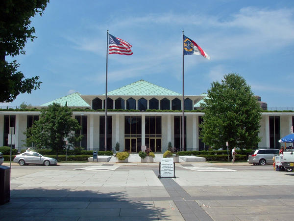 File photo of the North Carolina Legislatuve building.