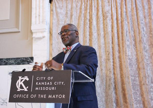 Mayor Sly James announced Friday that he's pushing the pre-K sales tax to April's ballot.