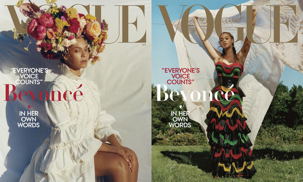 Tyler Mitchell photographed Beyoncé for the September issue of <em>Vogue.</em>