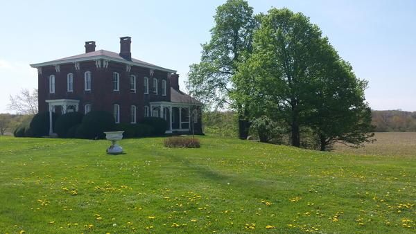 Howard Sacks' farm in Gambier, Ohio.