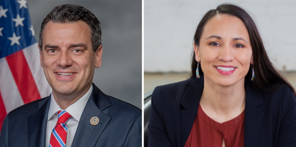 A new poll paid for by Sharice Davids' campaign has her up by three points against incumbent Republican Rep. Kevin Yoder.