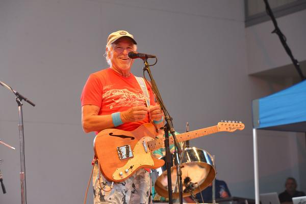 Jimmy Buffett plays a free concert, 'Get Out The Vote,' in support of Florida candidate for governor Gwen Graham on Thursday, Aug. 23, 2018.