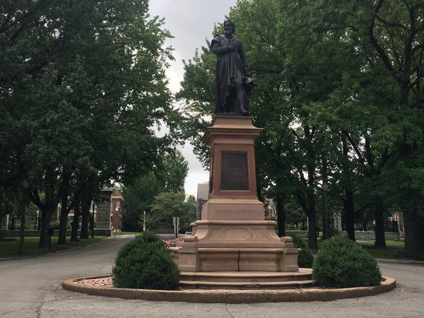 The Christopher Columbus statue in Tower Grove Park has been a source of controversy over the last few years due to Columbus' violent history.