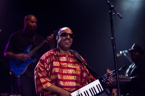 Stevie Wonder performs in Austin, Texas, in 2011.