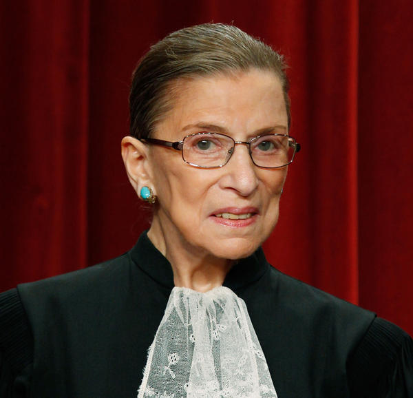 Supreme Court Associate Justice Ruth Bader Ginsburg, a dedicated advocate of classical music.