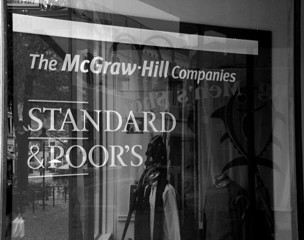 Standard & Poor's is one of the big three credit rating agencies.