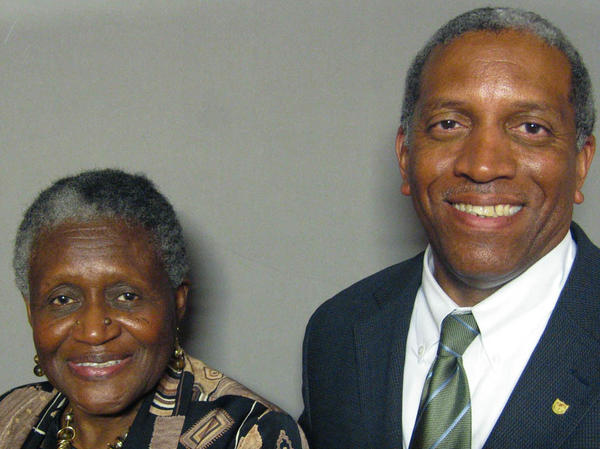 Cousins Cherie Johnson and James Ransom recorded their StoryCorps conversation in Sarasota, Fla.