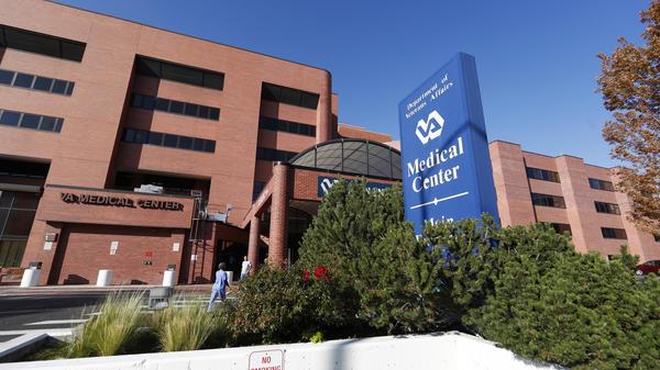 A Veterans Affairs Department hospital in Denver.