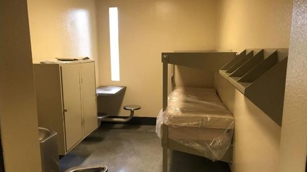 A view of a prison cell at SCI Phoenix, which is Pennslyvania's largest prison.