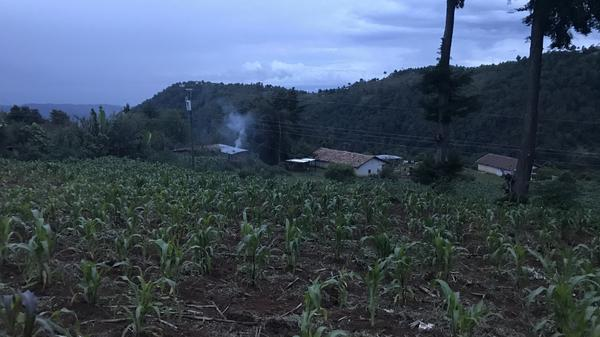 The highlands of Huehuetenango, Guatemala, home to Juan Valiente, a Guatemalan father who has been separated from his 8-year-old son for three months.