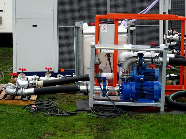 An industrial Cooling Generator